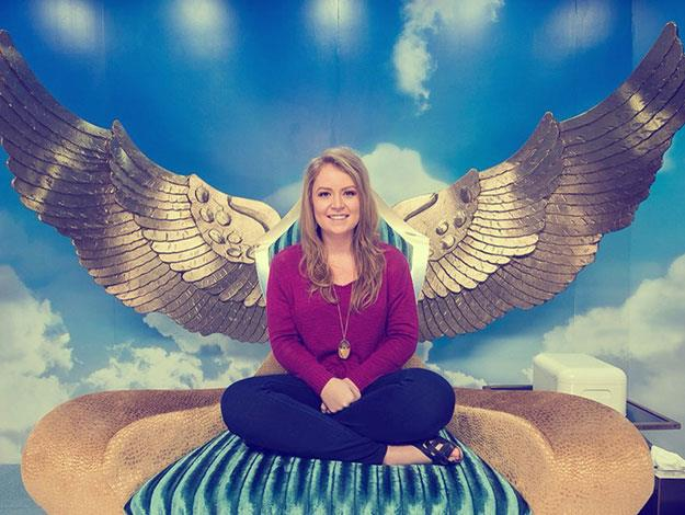 Jess tests the new diary room – it passes with flying colours.
