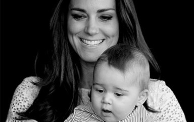 Duchess Catherine & Prince George's sweetest moments