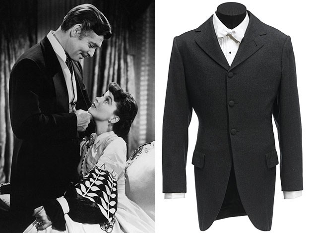 This riding coat, worn by Clark Gable in Gone with the Wind is expected to sell for AU$ 64,000 - 96,000.