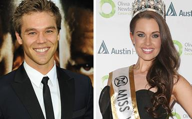 Lincoln Lewis dating Miss World Australia Courtney Thorpe