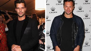 Ricky Martin and Ian Thorpe: new celeb couple?