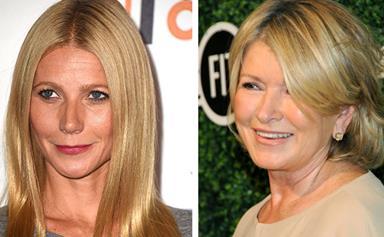 Martha Stewart tells Gwyneth Paltrow: 'Just be quiet!'