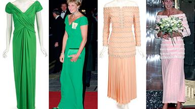Princess Diana's gowns to be auctioned off