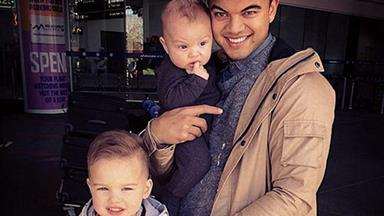 Guy Sebastian's son Hudson: 'I wuv you daddy!'