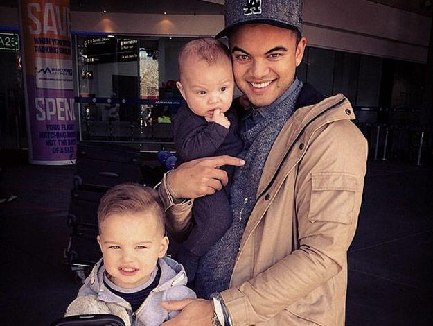 On Father's Day, the Aussie singer shared this snap of him and his boys!