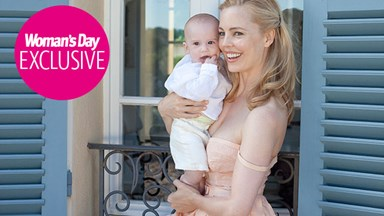 Melissa George's joy at being Mum to gorgeous baby Raphael
