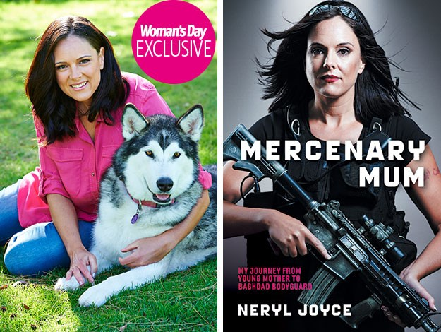 Beneath her well-groomed exterior and friendly, instantly welcoming character, 41-year-old Neryl has survived ambush attacks, walls of enemy bullets, and spent months on end waking to the scent of gunpowder as part of her job as a high-risk bodyguard in Iraq.