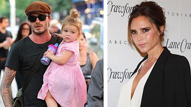 Victoria Beckham kept her first date dress, saving it for daughter Harper