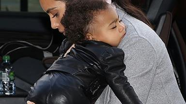 North West all tuckered out in Paris