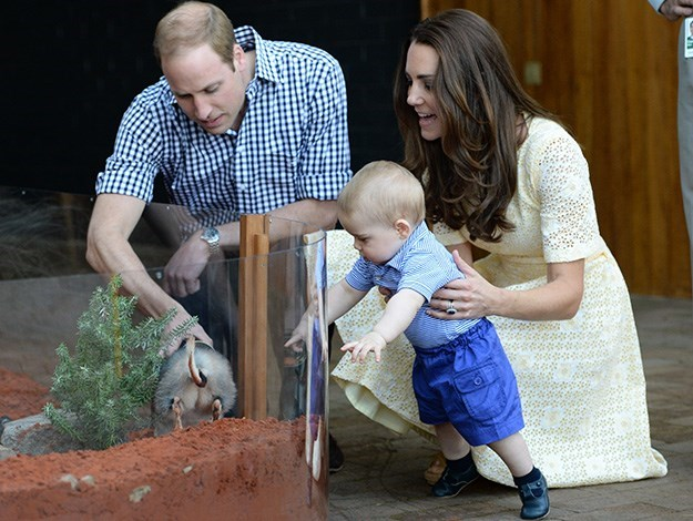 Prince William, Duchess Catherine and Prince George all paid a visit to Taronga zoo when they were all downunder earlier this year.