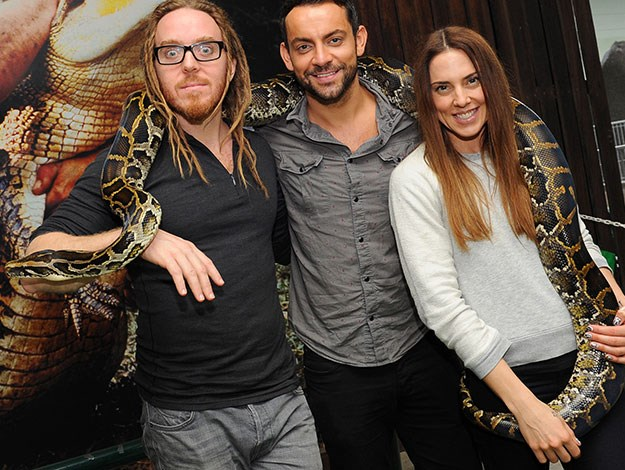 Former Spice Girl Mel C paid a visit to Australia Zoo last year along with her fellow cast members including Tim Minchin when they toured with the musical production of Jesus Christ Superstar.