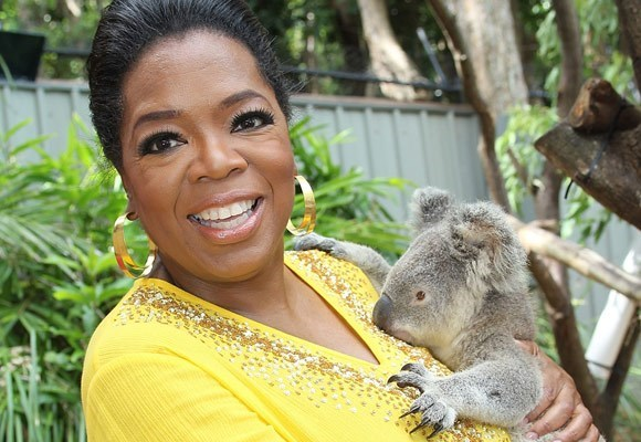Oprah met a Koala when she famously brought her show down under in 2011. [READ MORE HERE.](http://www.womansday.com.au/celebrity/photo-galleries/2010/12/oprahs-great-aussie-adventure!/)