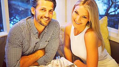 Tim Robards & Anna Heinrich flaunt their lasting Bachelor romance
