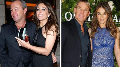 Liz Hurley is single again... and so is Shane Warne