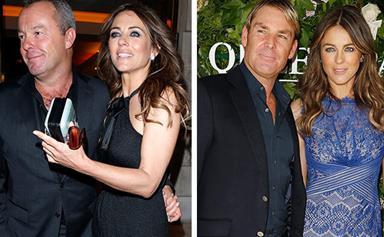 Liz Hurley is single again... and so is Shane Warne