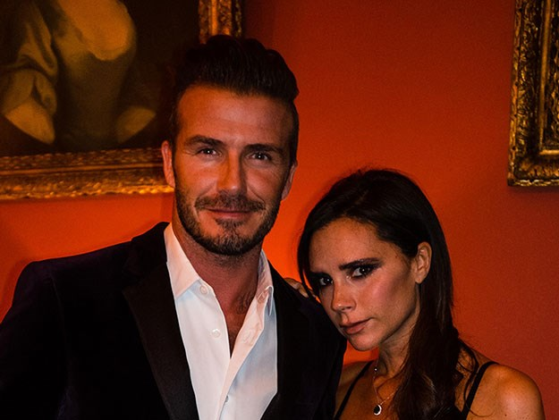 "David Beckham wrote on his Facebook page: ""My beautiful wife Victoria joined me tonight in Scotland for my celebratory dinner with Haig Club. We had such a great night."""