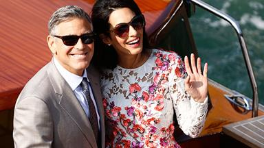 Amal Clooney's post wedding gift for George