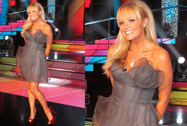 Emma Bunton craved sushi. Maybe it was the not being allowed to have it that made her want it so badly.