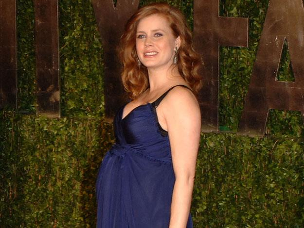 Apparently Amy Adams' cravings alerted her to being pregnant. Having never before tasted almond milk, she saw it in the fridge and downed the entire carton immediately.