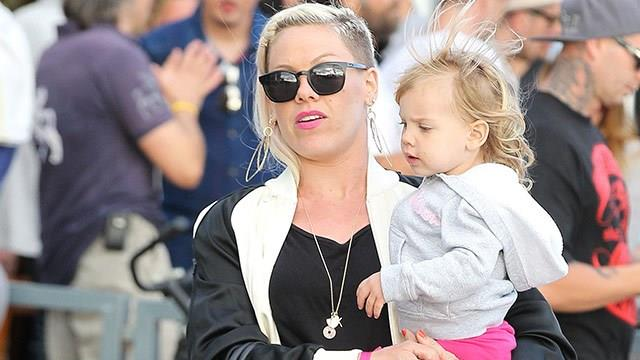 """Pink's cravings were """"Sour Patch Kids, or Sour Skittles, sour anything."""""""