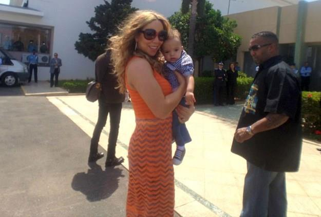Mariah Carey had a sweet tooth and wanted cherry-flavoured slurpees and candied apples.