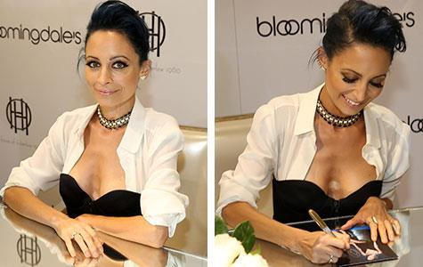 Nicole Richie shocks with her slender frame at jewellery launch