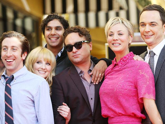 The Big Bang Theory cast joined Kayley on her big day!