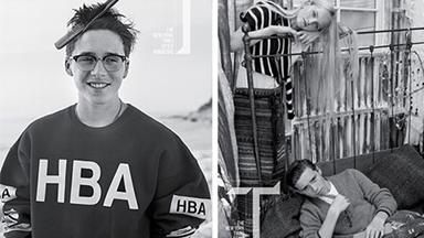 Brooklyn Beckham goes pro with modelling – in new fashion shoot