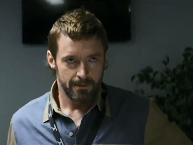 It's Hugh's latest role as Vincent though that sees him turn evil as the villain with the mullet!