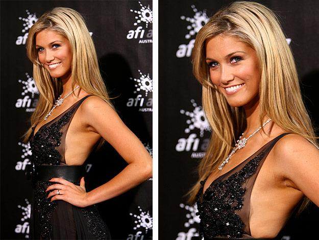 Delta stuns at the L'Oreal Paris 2007 AFI Awards Dinner in Melbourne.