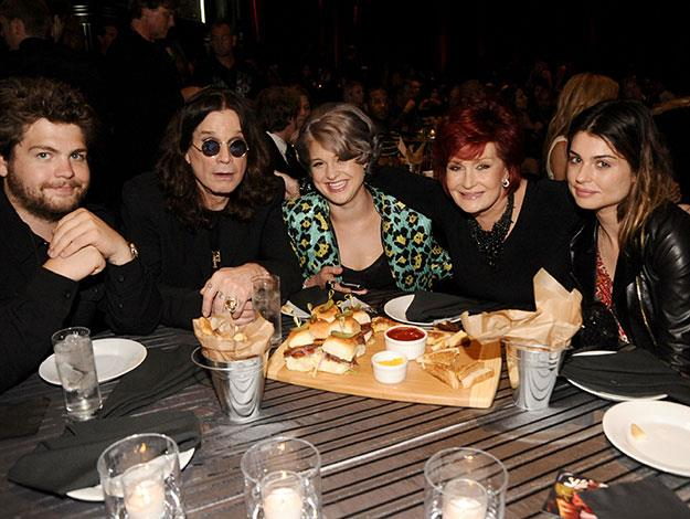 Aimee Osbourne – yep there's another Osbourne sibling (she's pictured far right). Kelly's more reserved big sister Aimee, 31, prefers the private life and opted not to appear on the family's reality show The Osbournes.