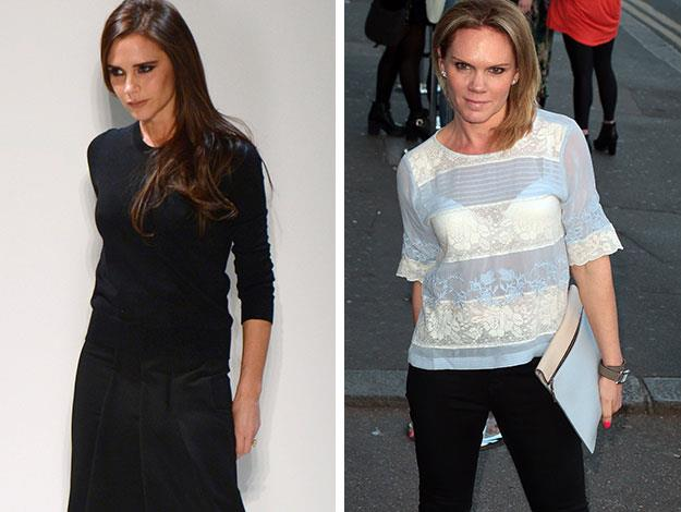 Victoria Beckham (nee Adams)'s sister Louise Adams was the first of the siblings to try her hand at show business as a teenager, but got sick of the auditions and modelling and quit while Victoria carried on and went to theatre school. Louise has worked as a SkyTV presenter and has four children like Victoria.