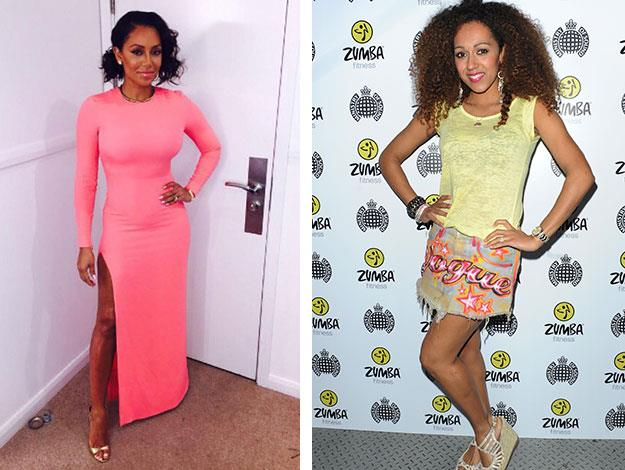 Another Spice Girl with a stunning lesser-known sister is Mel B. Danielle Brown , an actress who's had a few small roles in the UK, [hasn't spoken to her big sister since 2008 due to a rift between Mel and her Mum](http://www.womansday.com.au/celebrity/celebrity-headlines/2012/3/mel-bs-tears-over-bitter-family-feud/).
