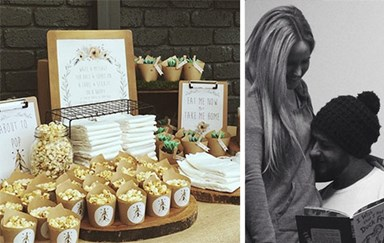 The Block's Sophie & Dale's bohemian-themed baby shower!