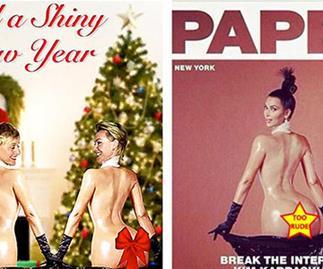 Ellen DeGeneres reveals hilarious Kim Kardashian inspired Christmas card!