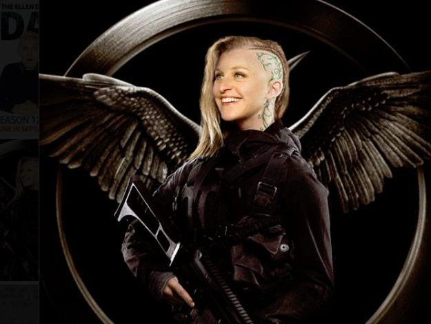 Ellen joins the cast of The Hunger Games.