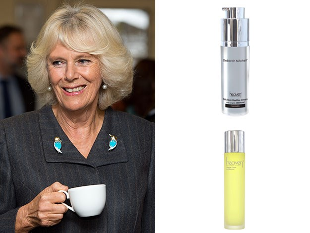 Like Catherine, Camilla enjoys the uber-premium black and gold bee venom masks but she also loves orange flower cell renewal hydrogel and the silk skin BB cream.
