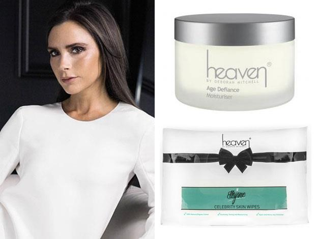"Another rather POSH fan of the bee venom treatments is Victoria Beckham. Deborah says: ""Victoria's been using Heaven for years and years,"" said Deborah. ""She used the age defiance cream first and then the bee venom came along and she used that. We sent off six bottles at one time."" She also likes the posh Ellajane face wipes."