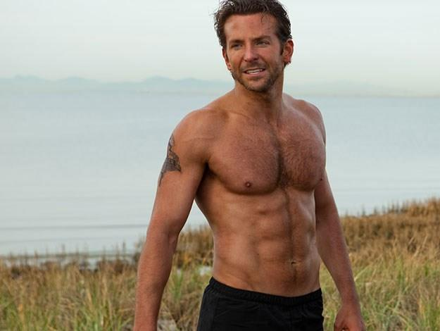 Bradley Cooper earned the number one position in 2011 and he's back on the list again this year at number six.
