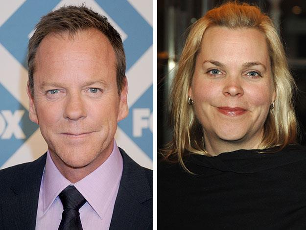 Star of 24, Kiefer Sutherland is another star with a twin who works behind-the-scenes in Hollywood. His sister Rachel works on movies in post-production.