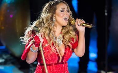 Mariah Carey struggles to hit the high notes