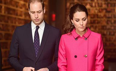 Prince William and Duchess Catherine visit 9/11 memorial