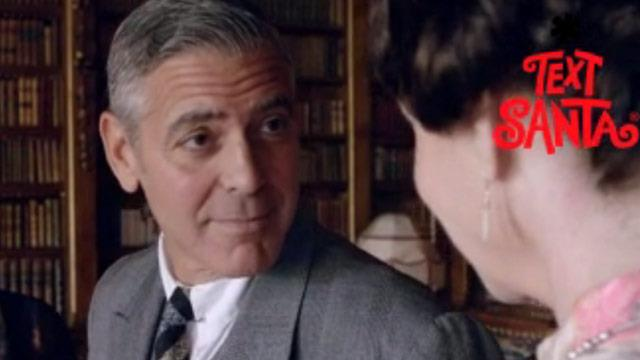 First look: George Clooney on set of Downton Abbey!