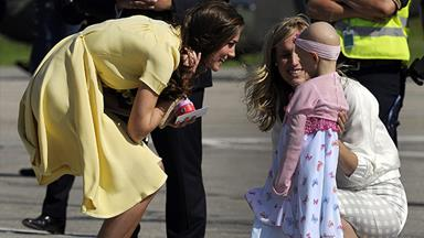 Duchess Catherine 'saddened' after girl she met on Canada tour dies of cancer