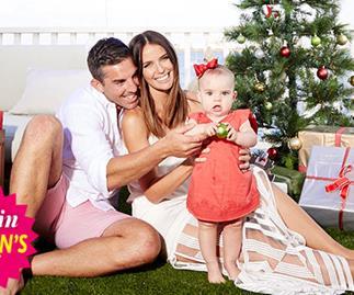 Jodi & Braith Anasta: Our first family Christmas!