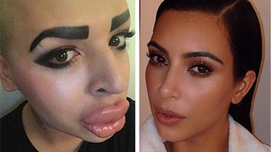 Kim Kardashian fan spends over $190k to look like her