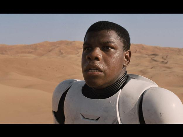 Joining the Star Wars family is Jon Boyega. This British actor will be playing a stormtrooper in Star Wars: Episode VII.