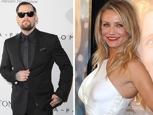 Cameron Diaz and Benji Madden have tied the knot! The pair wed at their Beverly Hills home today.