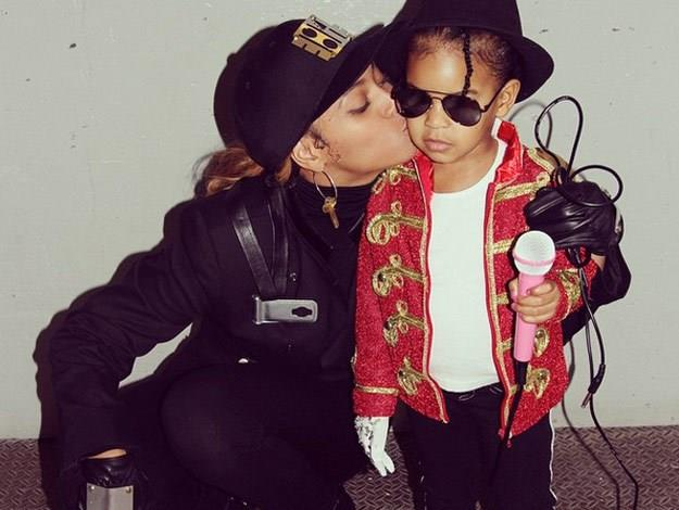 The Carters know how to slay Halloween and in 2014, they absolutely nailed it when Blue dressed up as Michael Jackson and Beyonce was Janet.