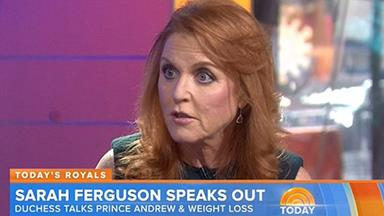 Sarah Ferguson defends Prince Andrew for a second time